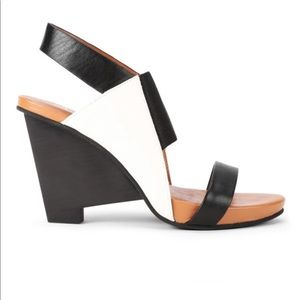 United Nude geometric wedge platform sandal